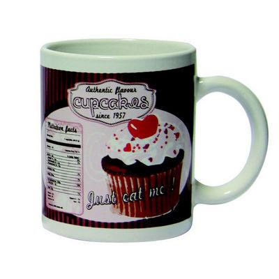 WHITE LABEL - Mug-WHITE LABEL-Mug Vintage Cupcakes