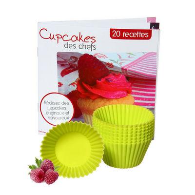 saveur & dégustation - Moule à muffins-saveur & dégustation-Saveur & Dégustation - Coffret cupcakes avec 8 mou