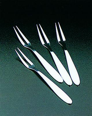 WHITE LABEL - Fourchette à escargot-WHITE LABEL-Ensemble de 4 fourchettes à escargots en inox