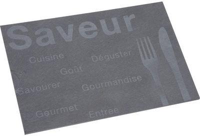 Aubry-Gaspard - Plateau-Aubry-Gaspard-Plateau rectangulaire Saveur en Ardoise naturelle