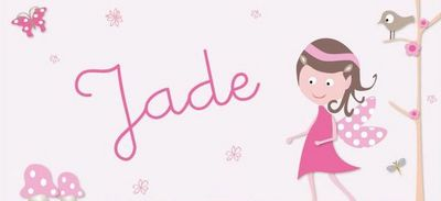 BABY SPHERE - Plaque de porte enfant-BABY SPHERE-Jade