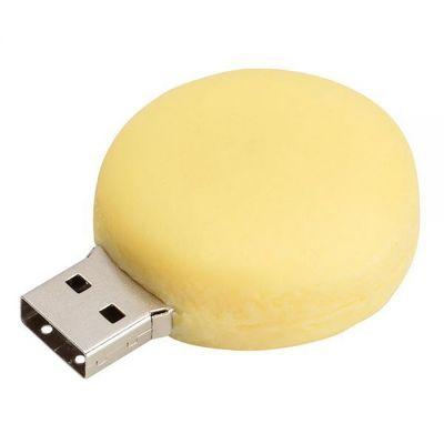 La Chaise Longue - Cle USB-La Chaise Longue-Clé USB 8GO macaron jaune