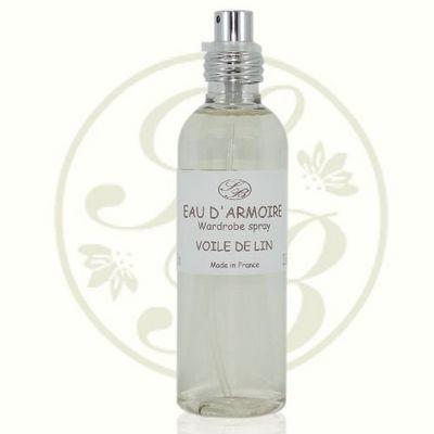 Savonnerie De Bormes - Parfum d'intérieur-Savonnerie De Bormes-Eau d'armoire - Voile de Lin - 100ml - Savonnerie