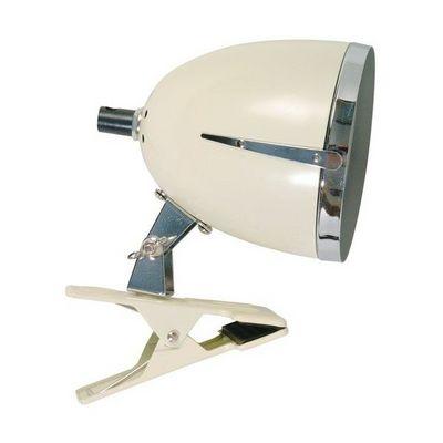 La Chaise Longue - Lampe à pince-La Chaise Longue-Lampe Colombus clip petit modèle ivoire