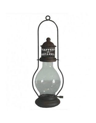 L'HERITIER DU TEMPS - Lanterne d'extérieur-L'HERITIER DU TEMPS-Lanterne style lampe à huile