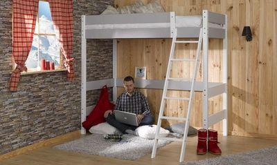 CDL Chambre-dressing-literie.com - Lit mezzanine enfant-CDL Chambre-dressing-literie.com-Lits Adultes Mezzanines
