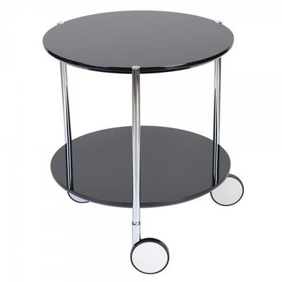 La Chaise Longue - Table d'appoint-La Chaise Longue-Gu�ridon Pop Noir