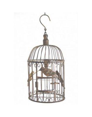 L'HERITIER DU TEMPS - Cage à oiseaux-L'HERITIER DU TEMPS-Cage à oiseaux ronde - 35 cm