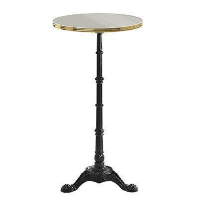 Ardamez - Mange debout-Ardamez-Mange debout émaillé rond / table haute / gris