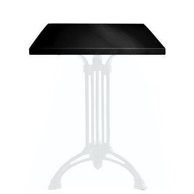 Ardamez - Plateau de table-Ardamez-Plateau de table �maill� sur acier / noir