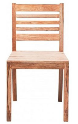 WHITE LABEL - Chaise-WHITE LABEL-WILD, chaise en bois massif