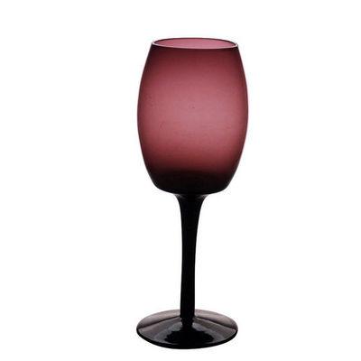 Interior's - Verre � pied-Interior's-Verre � vin aubergine