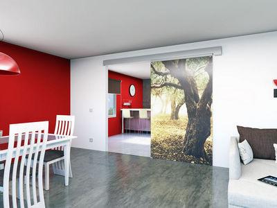 Mantion - Porte de communication vitrée-Mantion-La porte en verre coulissante et esthétique