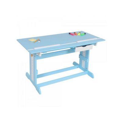 WHITE LABEL - Bureau enfant-WHITE LABEL-Bureau enfant meuble chambre bleu