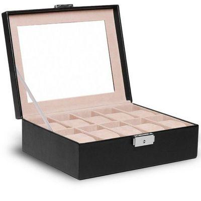 WHITE LABEL - Coffret à montres-WHITE LABEL-Coffret boîte présentoir 10 montres