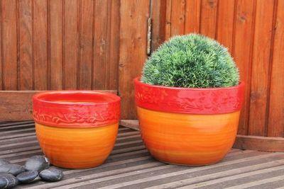 Les Poteries Clair de Terre - Pot de jardin-Les Poteries Clair de Terre-Rose des Bois