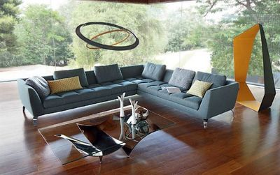 ROCHE BOBOIS - Canapé d'angle-ROCHE BOBOIS-Astrea