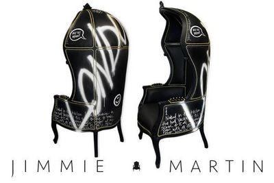 JIMMIE MARTIN - Chaise-JIMMIE MARTIN