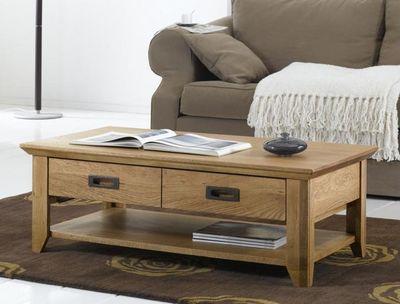 Ateliers De Langres - Table basse rectangulaire-Ateliers De Langres-USHUAIA