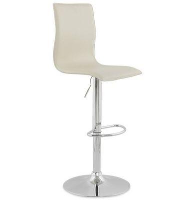 KOKOON DESIGN - Chaise haute de bar-KOKOON DESIGN-Tabouret de bar design Soho Cr�me
