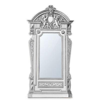 Corvasce Design - Miroir-Corvasce Design-Specchiera da terra in cartone Luigi XVI