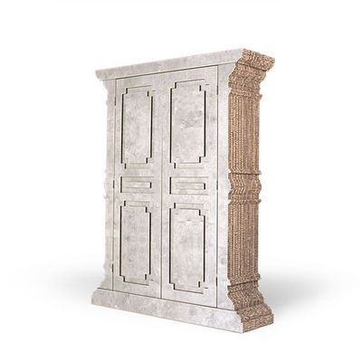 Corvasce Design - Armoire � portes battantes-Corvasce Design-Credenza a due porte