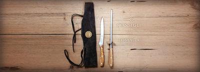 TOMAGA INDUSTRIES - Couteau à désosser-TOMAGA INDUSTRIES