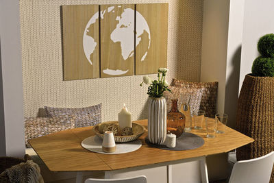 BOLTZE GRUPPE - Table de repas rectangulaire-BOLTZE GRUPPE