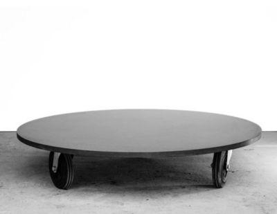MALHERBE EDITION - Table basse ronde-MALHERBE EDITION-Table Basse B�ton ronde