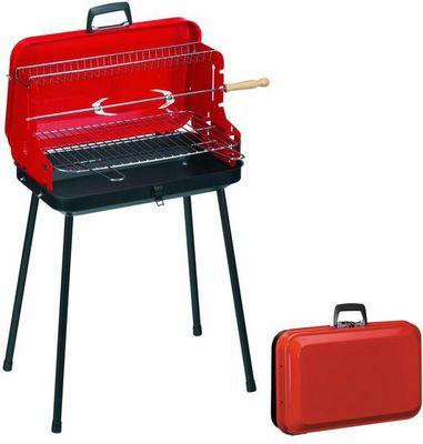 Dalper - Barbecue au charbon-Dalper-Barbcue pliable avec poign�e Valisette