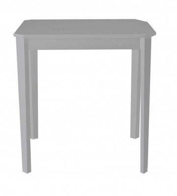 ID'CLIK - Table de repas carr�e-ID'CLIK-Table repas carr�e Paco 75cm Gris