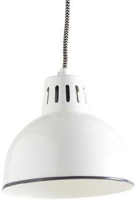 Aubry-Gaspard - Suspension-Aubry-Gaspard-Lampe vintage Suspension en métal laqué