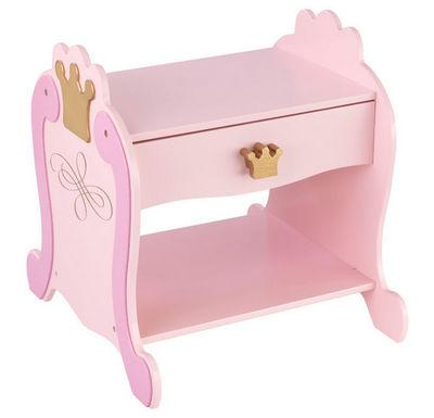 KidKraft - Chevet Enfant-KidKraft-Table de nuit Princesse