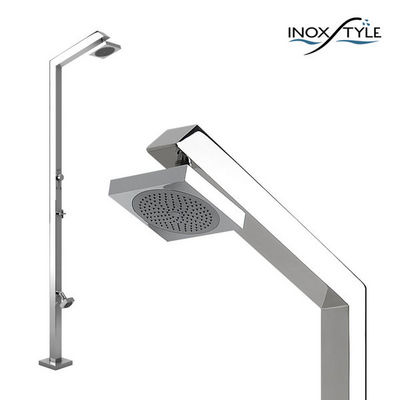 INOXSTYLE - Douche d'extérieur-INOXSTYLE-Tecno Cube ML Zoe