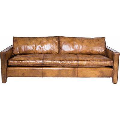Kare Design - Canapé 3 places-Kare Design-Canapé Comfy Buffalo marron