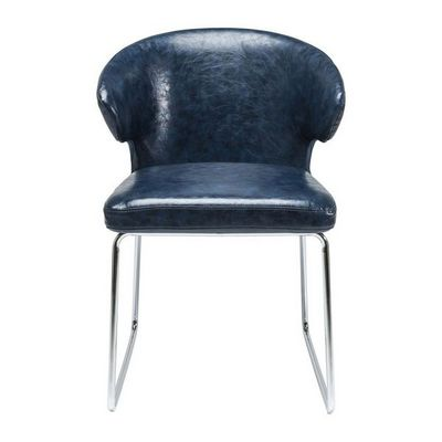 Kare Design - Chaise-Kare Design-Chaise Atomic bleue