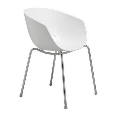 Kare Design - Chaise-Kare Design-Chaise design Eggshell blanche