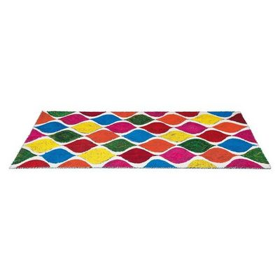 Kare Design - Tapis contemporain-Kare Design-Tapis Multicolore Waterdrop Colore 170x240cm