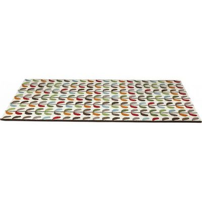 Kare Design - Tapis contemporain-Kare Design-Tapis en coton Leaf Colore 170x240 cm