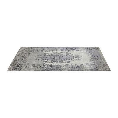 Kare Design - Tapis contemporain-Kare Design-Tapis Kelim Pop gris 300x200