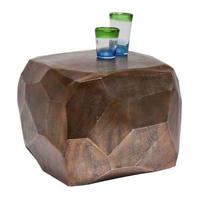 Kare Design - Table basse carr�e-Kare Design-Table Basse Diamond Cuivre 56x56 cm