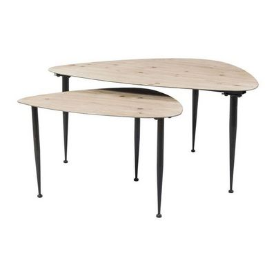Kare Design - Table basse forme originale-Kare Design-Tables basses Melange (set de 2)