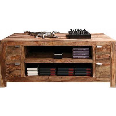 Kare Design - Meuble tv hi fi-Kare Design-Meuble TV en bois Authentico