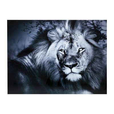 Kare Design - Tableau d�coratif-Kare Design-Tableau en verre Lion King 120x160