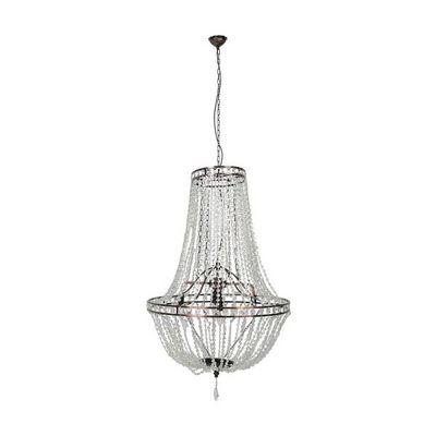 Kare Design - Lustre-Kare Design-Lustre Regina Transparent G�ant