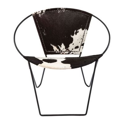 Kare Design - Fauteuil-Kare Design-Fauteuil Rond Bucket Cow