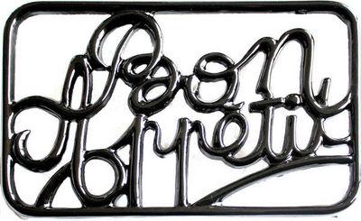 INVICTA - Dessous de plat-INVICTA-Dessous de plat rectangulaire Bon Appétit