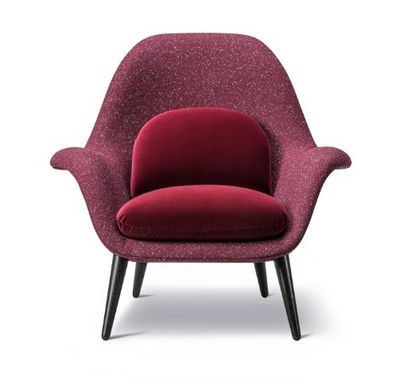 Fredericia - Fauteuil-Fredericia-Swoon--