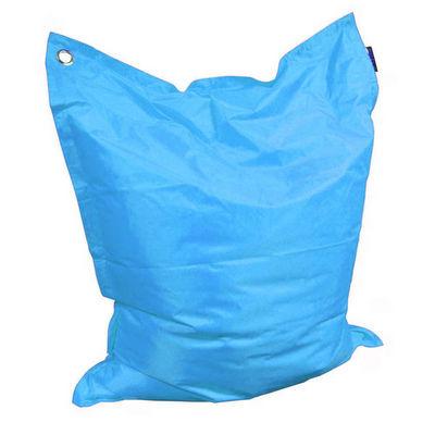 Cotton Wood - Pouf d'extérieur-Cotton Wood-Grand coussin uni Maxi Turquoise