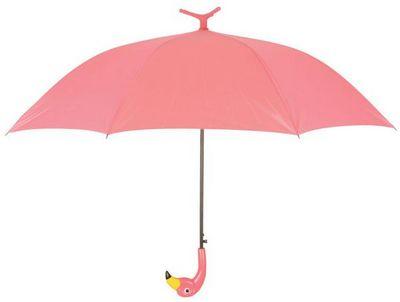 Esschert Design - Parapluie-Esschert Design-Parapluie Flamingo le Flamant rose